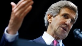 FILE - U.S. Secretary of State John Kerry.