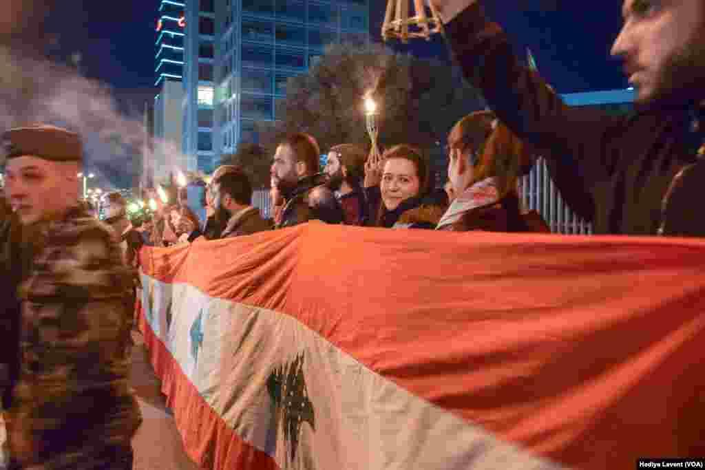 Lebanon anti-government protests, Feb 2, 2019