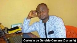 Geraldo Camara, jornalista guineense