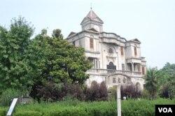 台儿庄火车站旧址(美国之音林森拍摄)