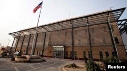Gedung Kedutaan Besar AS di Baghdad, Irak (foto: ilustrasi).