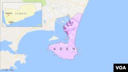 عدن کا نقشہ