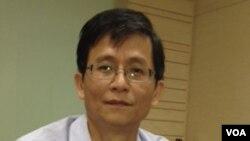 元贞联合法律事务所创建人詹顺贵律师(美国之音燕青拍摄)