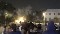 Protests Mark Anniversary in Egypt