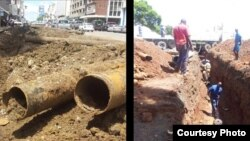 Harare water pipe replacement underway in most parts of the city