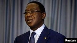 Soumaila Cissé, chef de file de l'opposition et candidat à la présidentielle du 29 Juillet, ici, à Bamako, au Mali, le 13 août 2013.