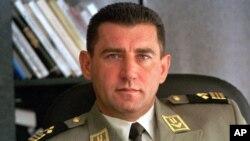 Ante Gotovina u vreme aktivne vojne službe (AP Photo/HINA)
