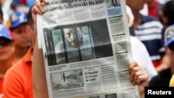 Leopoldo López López se ha negado a asistir al juicio hasta que la justicia venezolana no acate las demandas de libertad que pidió a su favor la Organización de Naciones Unidas (ONU).