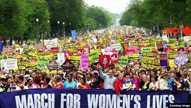 Cuộc tuần hành của Phụ nữ tại Washington D.C