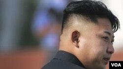 ຜູ້ນໍາເກົາຫລີເໜືອ ທ່ານ Kim Jong Un.