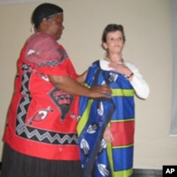 Dr. Mary Kathryn Linde in Swaziland