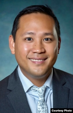 Kristoffer Toribio, assistant director of international admissions at Orange Coast College.