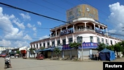 Laukkai, thủ phủ của vùng Kokang, Myanmar.