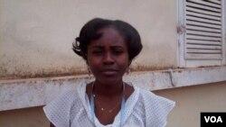 Angola WHO worker social scientist Arciolanda Mucama