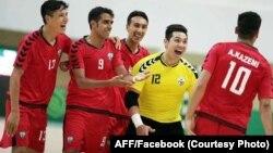 علی رضا قربانی، دروازه بان تیم ملی فوتسال افغانستان عامل عمدۀ پیروزی رقابت با ترکمنستان بود.