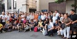 上海維權人士每週一集體上訪,要求維護公民訴訟權