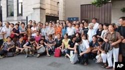 上海维权人士每周一集体上访,要求维护公民诉讼权