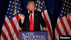 Donald Trump aseguró que su política exterior será pensando siempre primero en el bienestar de los ciudadanos estadounidense.