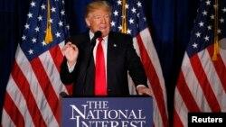 Respublikachi nomzod Donald Tramp fikricha avvalo Amerika foydasini o'ylab ish ko'rish kerak. Uningcha, global tinchlik uchun shuncha kuch va mablag' sarflash noto'g'ri.
