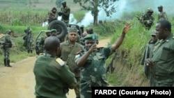 Mampinga ya RDC, FARDC na Djugu, na Ituri, janvier 2020. (FARDC PP Lieutenant Jules Ngongo)