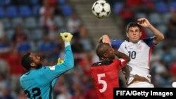 Les Américains battus 2-1 à Trinidad et Tobago, le 10 octobre 2017 (FIFA)