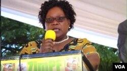 Emhlanganweni werally okaNkosikazi Joice Mujuru koBulawayo