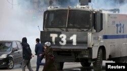 پلیس ضد شورش در مناطق کردنشین ترکیه