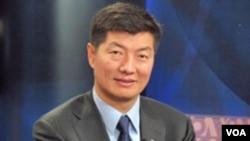 西藏藏人行政中央新领导人洛桑森格(资料照片)