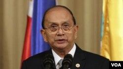 ປະທານາທິບໍດີ ມຽນມາ ທ່ານ Thein Sein