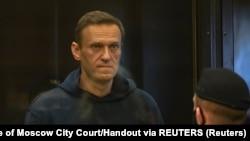 Navalniy sud jarayoni paytida