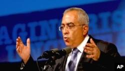 巴勒斯坦總理薩拉姆.法亞德