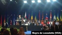 Barack Obama no encontro com os jovens que participaram no programa Yali 2014, Julho 28 EUA