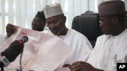 Attahiru Jega, Ishugaban hukumar zaben Najeriya ta INEC.