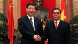 Ông Lê Hồng Anh, Ủy viên Bộ Chính Trị và Chủ tịch Trung Quốc Tập Cận Bình.