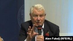 Bivši visoki predstavnik Paddy Ashdown (na fotografiji) nametnuo je posebna izborna pravila za Mostar (Sarajevo, 2015.)
