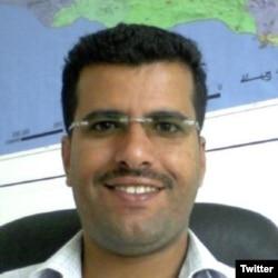 Freelance Yemeni journalist Almigdad Mojalli (from his Twitter profile)