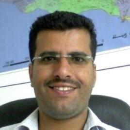 FILE - Freelance Yemeni journalist Almigdad Mojalli