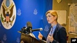 Duta Besar AS untuk PBB Samantha Power.