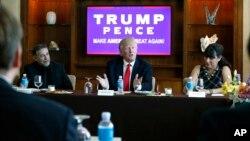 """Trump dice que podría haber una """"relajación"""" de normas migratorias actuales, y sugirió por primera vez que si llegaría a autorizar deportaciones, muchos podrían volver a Estados Unidos."""