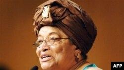Tổng thống Liberia Ellen Johnson Sirleaf
