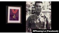 Thiếu tướng Lê Minh Đảo, của QLVNCH, vừa được Dân biểu Mỹ Harley Rouda vinh danh tại Hạ viện Hoa Kỳ hôm 3/4. (Ảnh chụp từ Facebook của BPhuong Le)
