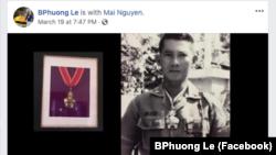 Di ảnh tướng Lê Minh Đảo.