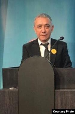 世界維吾爾代表大會(World Uighur Congress) 發言人迪里夏提·熱西提(Dilxat Raxit) (資料照)