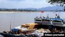 Ubwato bw'Ubushinwa, Mekong River