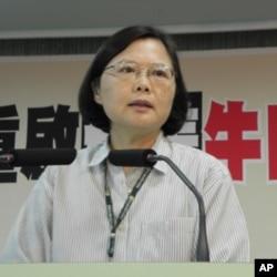 民进党主席蔡英文批马决策错误