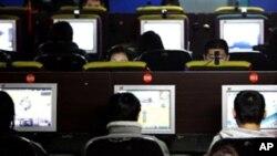 中国的一家网吧