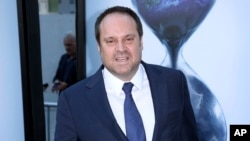 FILE - Former Ebay president Jeff Skoll is pictured at at the Arclight Hollywood in Los Angeles on July 25, 2017,