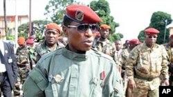 Guinea's military ruler Captain Moussa Dadis Camara