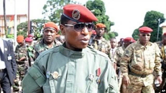 Guinea's military ruler Captain Moussa Dadis Camara
