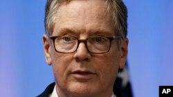 El representante comercial de EE.UU. Robert Lighthizer, dice que las negociaciones sobre la renegociación del TLCAN está progresando muy lentamente.
